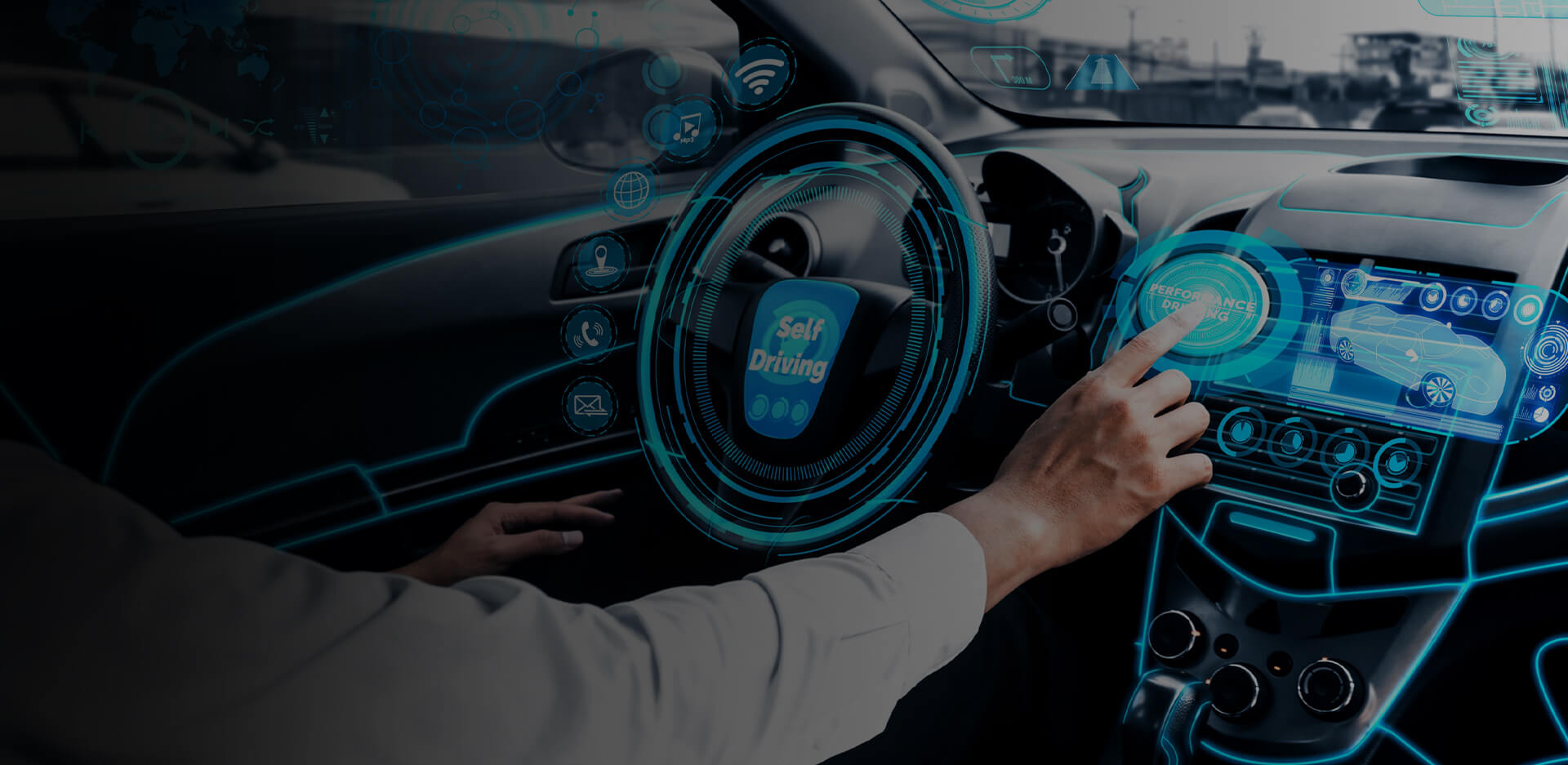 Smart connected car app offers innovative services to drivers while keeping them safe